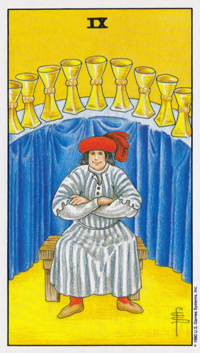 Nine of Cups Tarot Cards